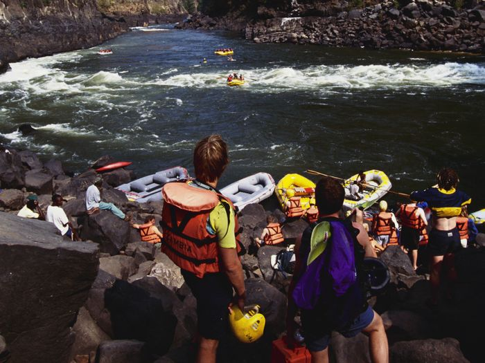 what to wear rafting social