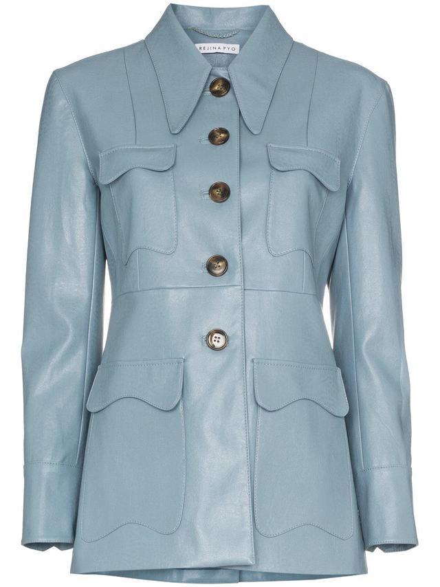 olivia faux leather jacket