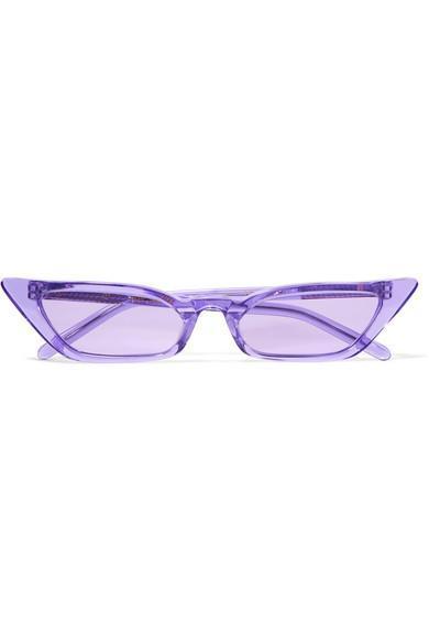 Le Skinny Cat-eye Acetate Sunglasses
