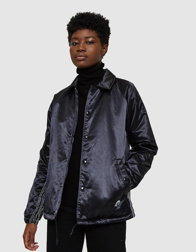 AW Coach Jacket in Black/Black