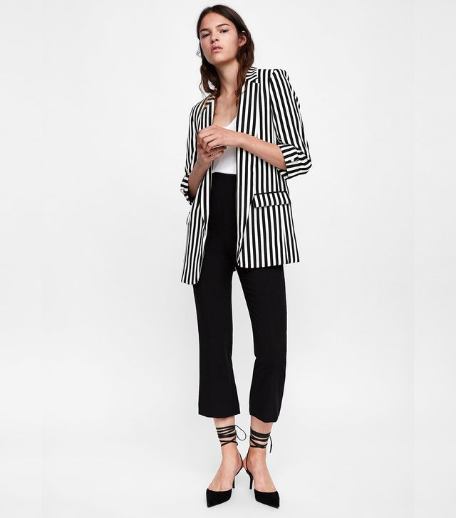 Zara Striped Blazer
