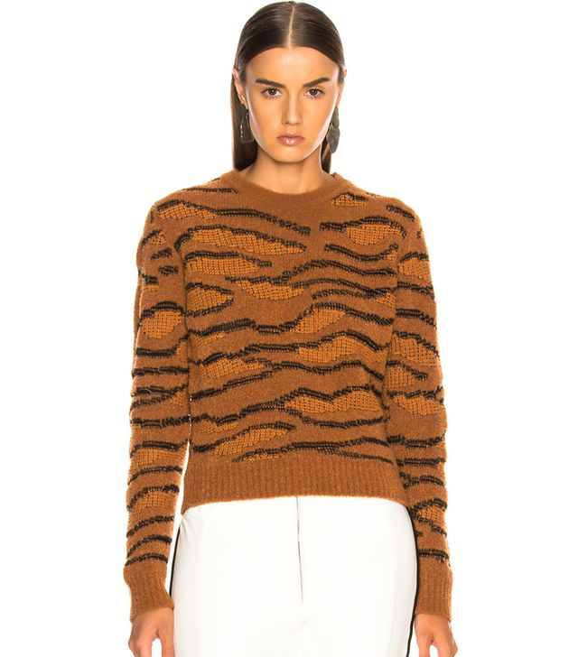 Stella McCartney Tiger Print Sweater
