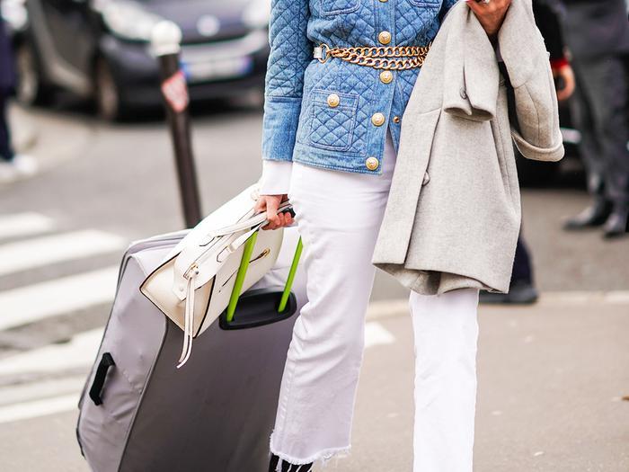 Suitcase Street Style