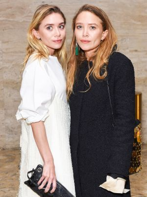 Ashley and Mary-Kate Olsen Were the Happiest Boho Bridesmaids in This Wedding