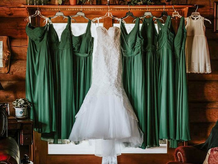 Fall color bridesmaid dresses