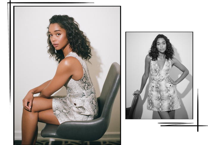 Laura Harrier Blackkklansman interview