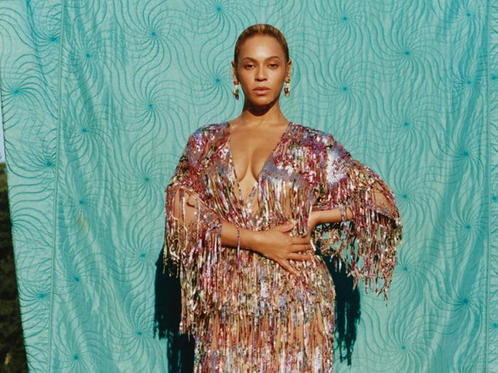 Beyoncé September Issue Cover for Vogue