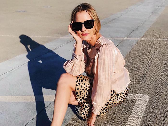 Leopard clothes trend