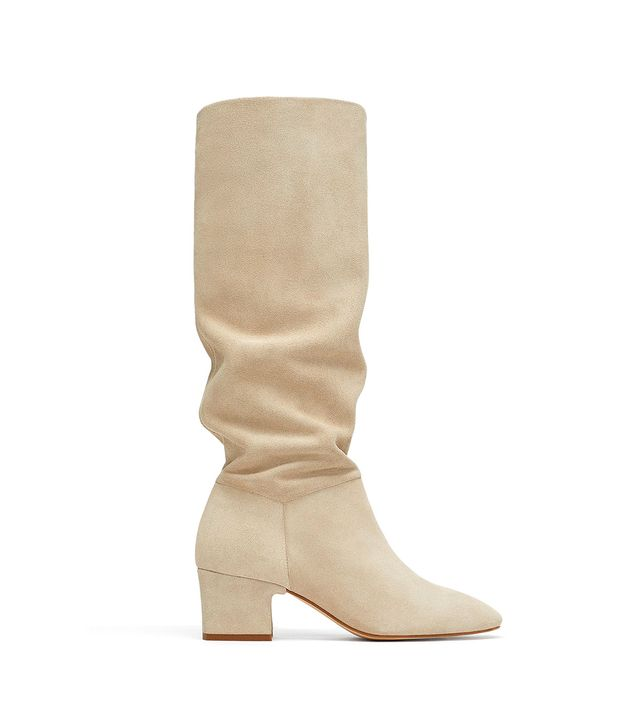 Zara Tall Leather Boots