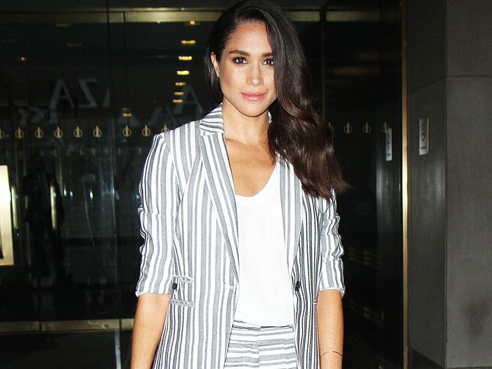 Meghan Markle blazer outfit