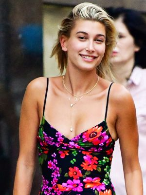 Hailey Baldwin Dug These Classic Sneakers Out From the Back of Her Closet
