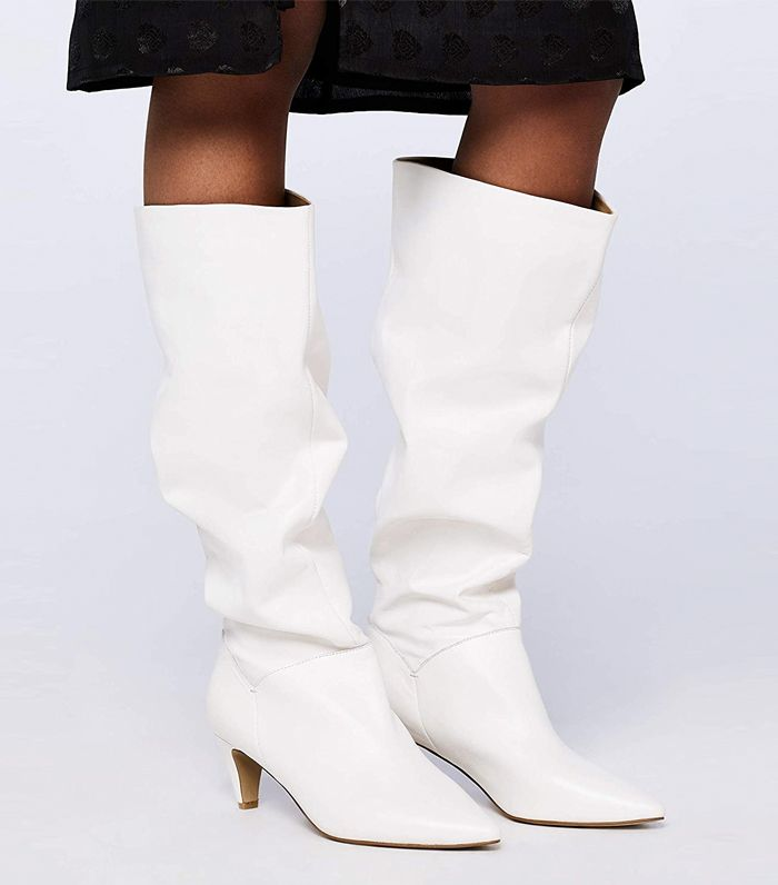 Slouchy Ruffled Boots | Boots, High