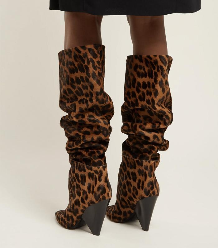 suede scrunch boots