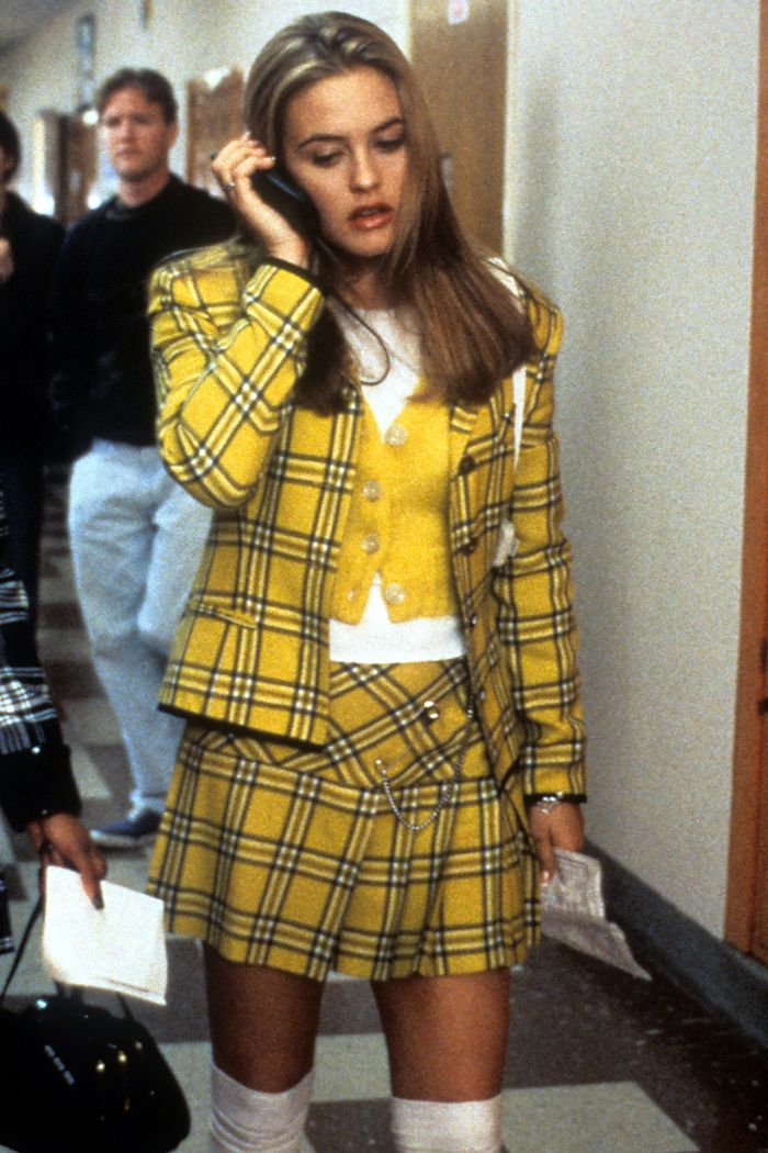Topshop new in: Cher Horowitz wearing checked co-ord