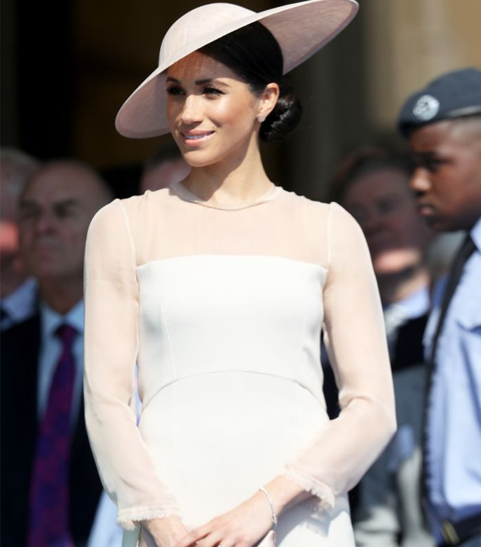 Goat fashion: Meghan Markle wearing a Goat dress