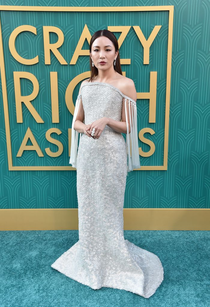 Constance Wu Crazy Rich Asians Premiere