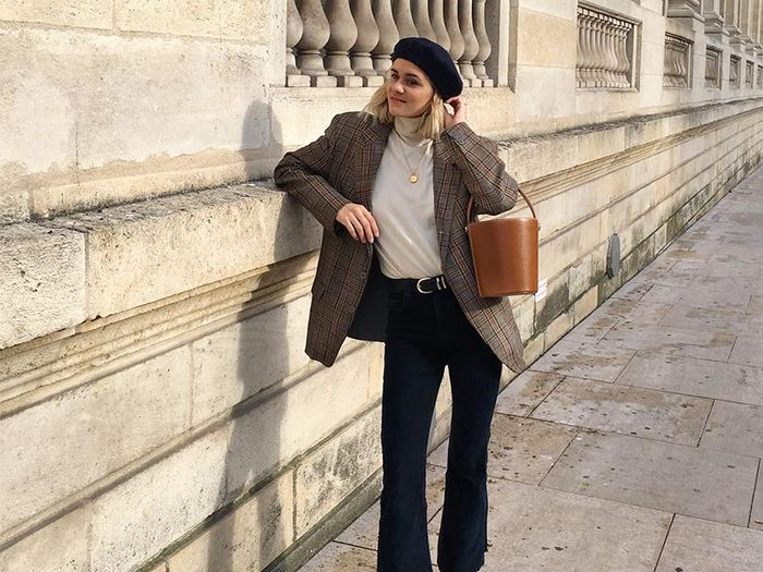 French girl fall capsule wardrobe
