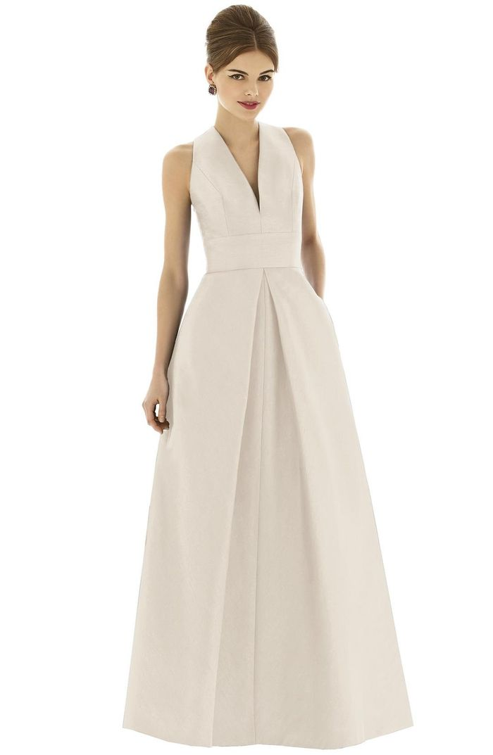 31 Champagne Colored Bridesmaid Dresses On The Market Who