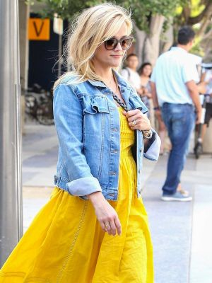 Reese Witherspoon Just Wore the Prettiest $89 J.Crew Dress