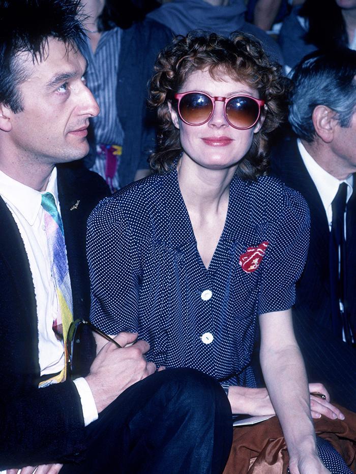 Eighties Fashion: Oversized Sunglasses