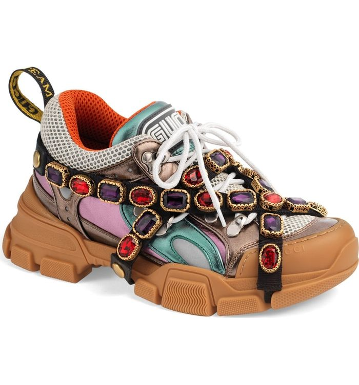 Gucci Just Released Over,the,Top Embellished Sneakers