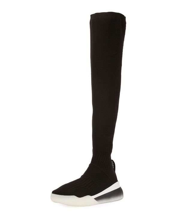 Stella McCartney Over-The-Knee Stretch Sneaker Boots
