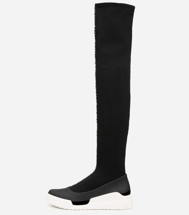 Donna Karan New York Runway Rowan Over the Knee Sock Sneakers