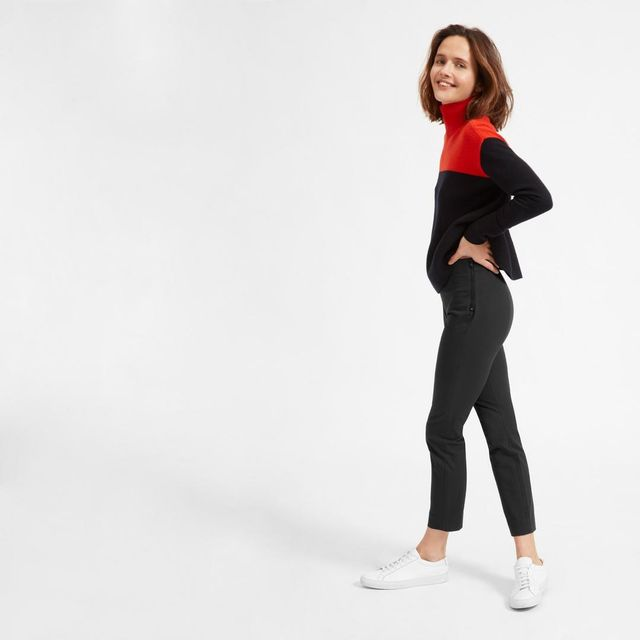 Women's Work Pant (Ankle) by Everlane in Black, Size 12
