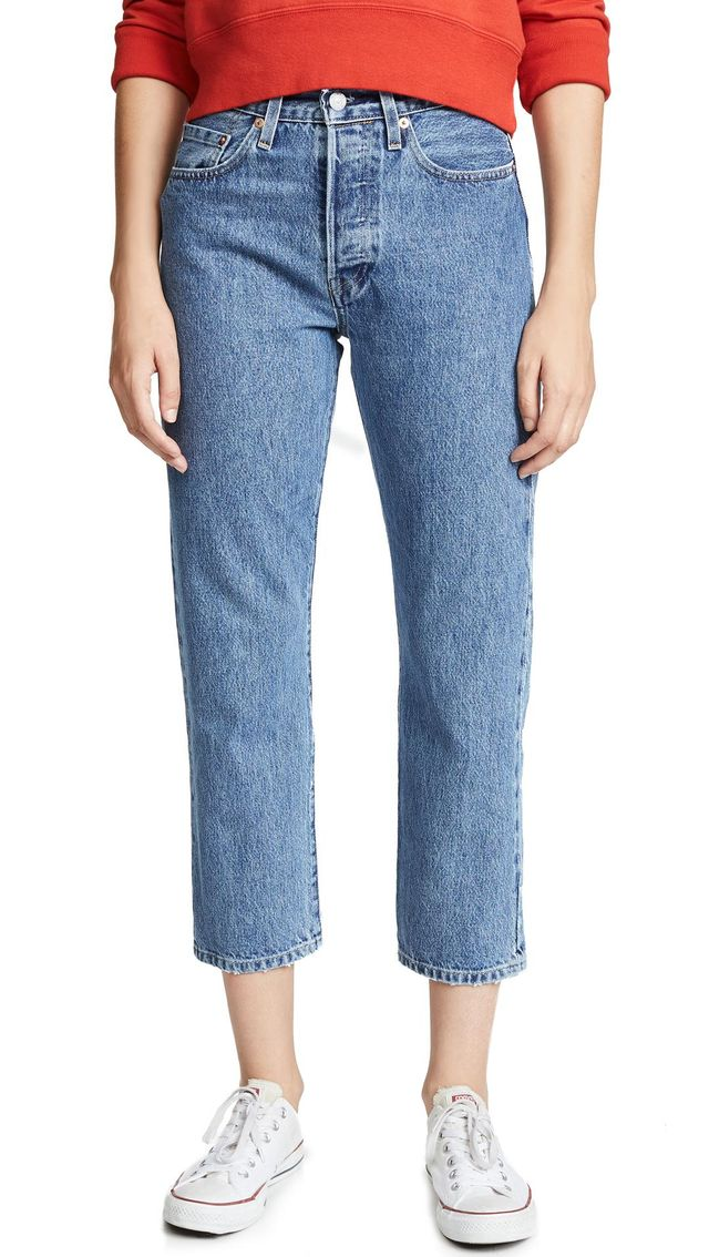 Made & Crafted 501 Crop Jeans