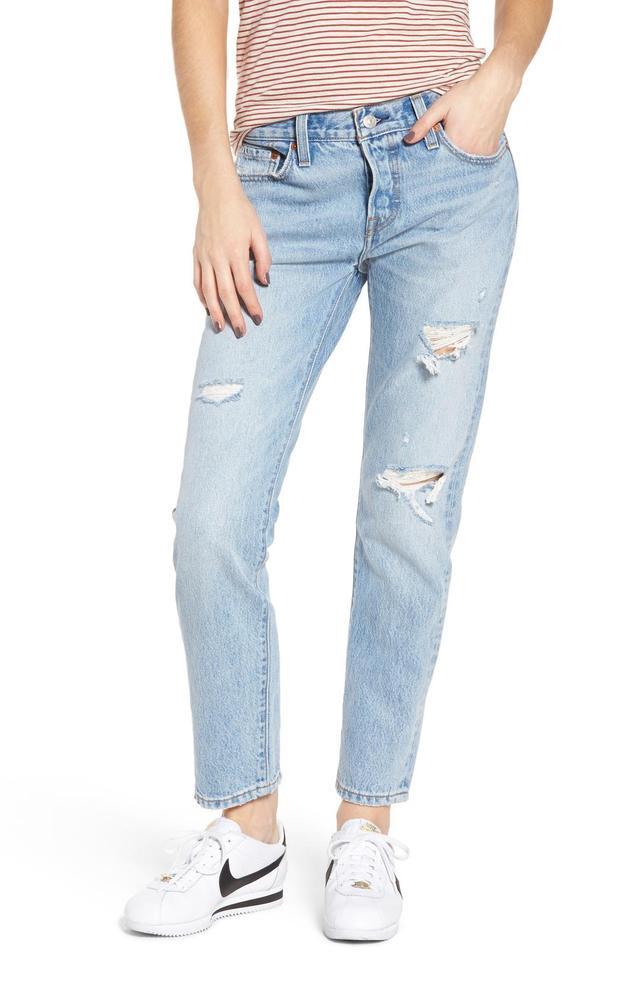 Women's Levi's 501 Boyfriend Jeans
