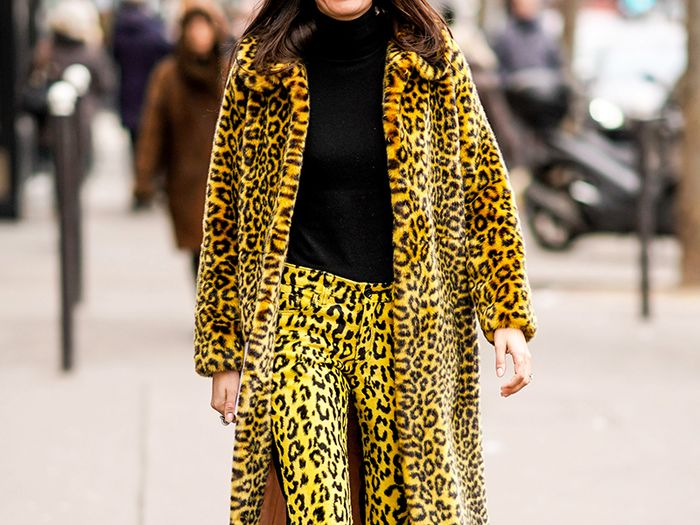 Leopard-print outfit