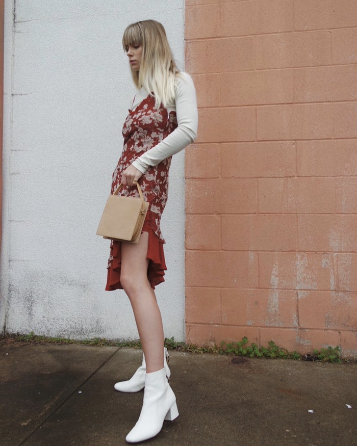 Printed dresses for fall