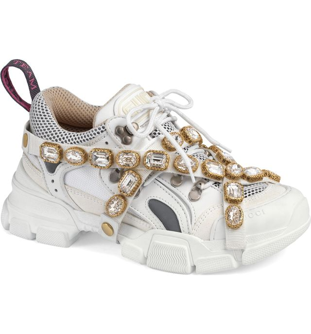 Gucci Journey Jewel Embellished Sneakers