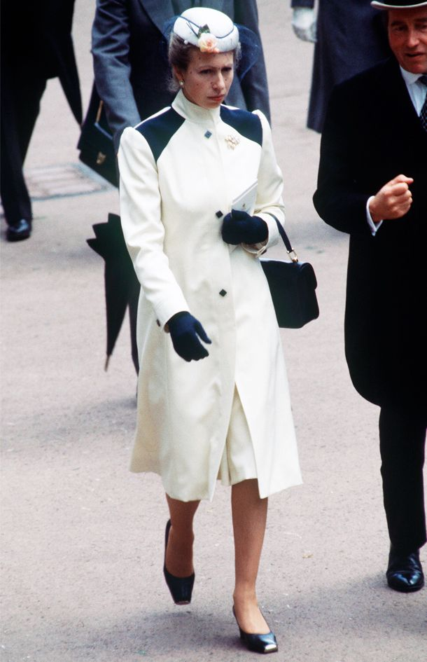 Same clothes: Princess Anne often rewears her favourite looks