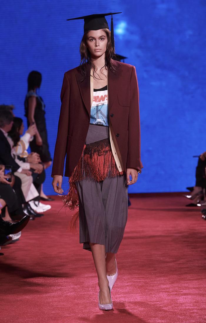 Calvin Klein S/S 19 Kaia Gerber