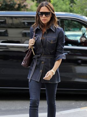 3 Details That Make Skinny Jeans Perfect, According to Victoria Beckham