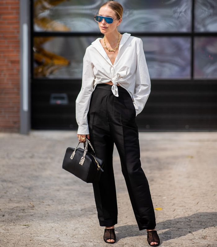 Best Céline sunglasses: Pernille Teisbaek wearing the Céline mask sunglasses