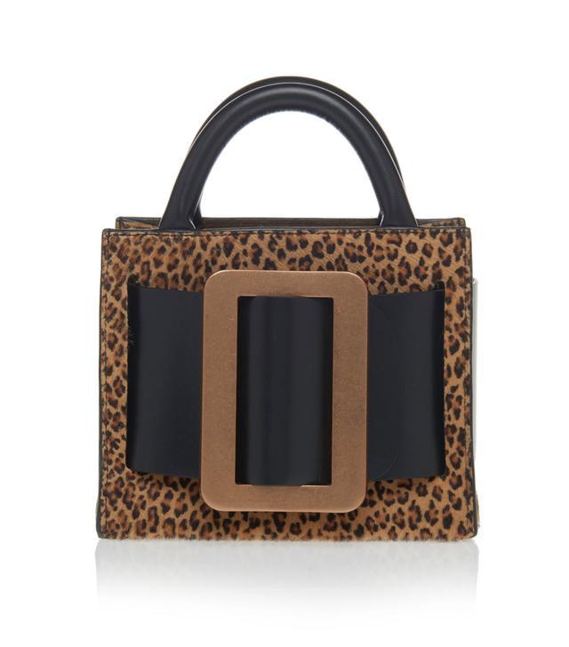 Boyy Bobby 16 Leopard-Print Calf Hair Bag