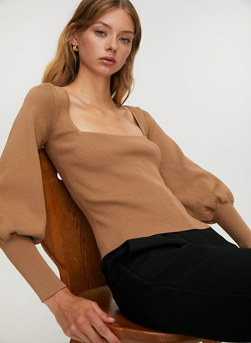 Babaton Gideon Sculpt Knit Sweater