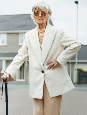 Yep, This 86-Year-Old Funeral Director Is Now a Fashion Star