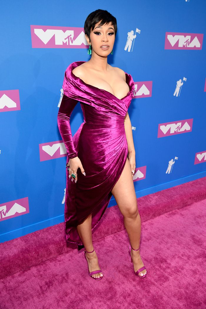 Cardi B VMA Red Carpet 2018