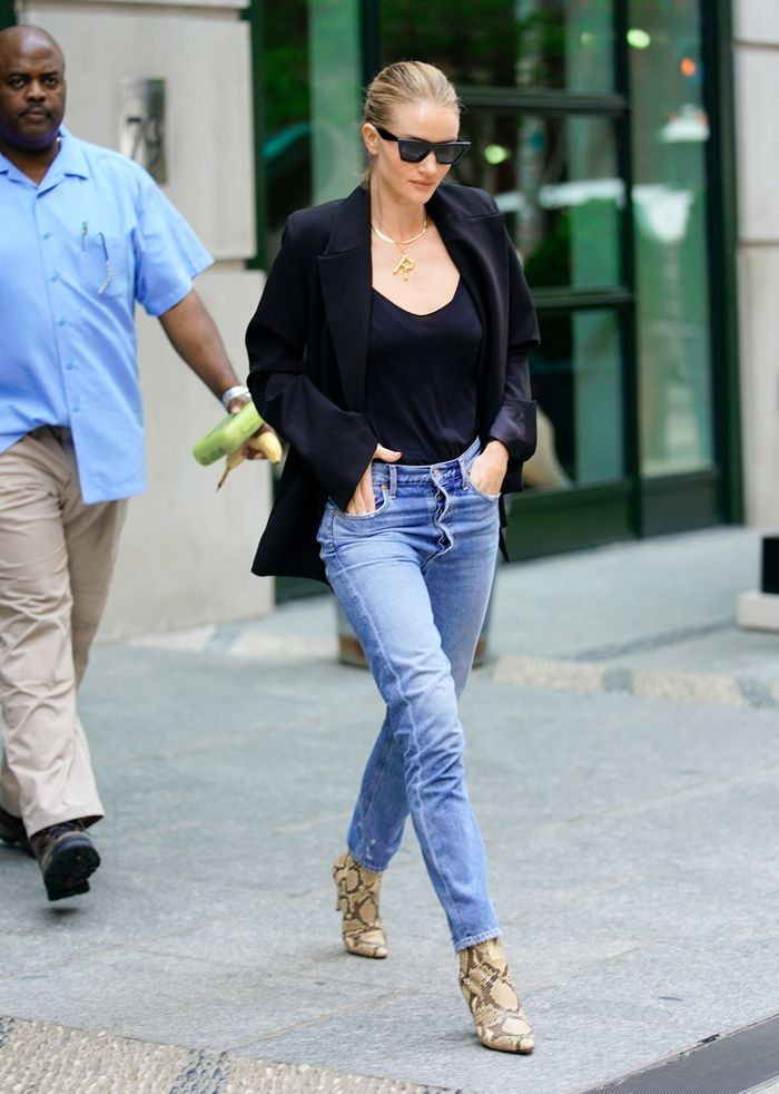 Rosie Huntington-Whiteley - Fall Outfit Idea