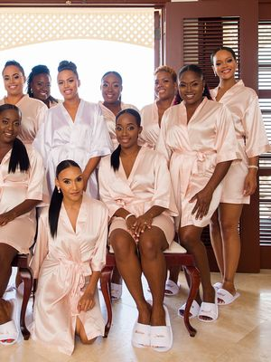 Rihanna's Stunning Bridesmaid Dress Stole the Show in Barbados