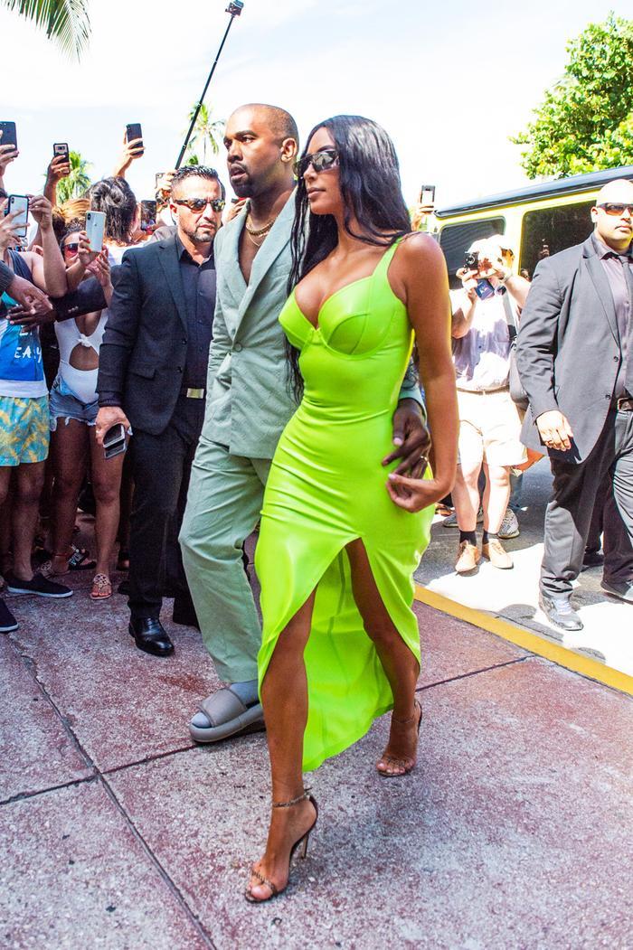 Kim Kardashian West at 2 Chainz's wedding