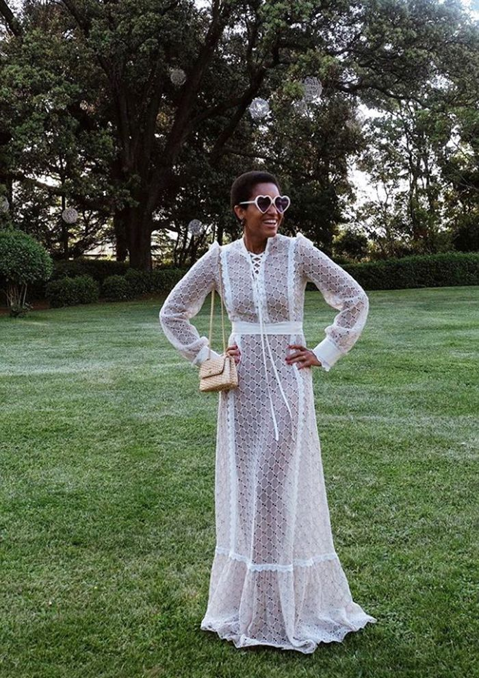 Long-Sleeved Dresses: Tamu McPherson