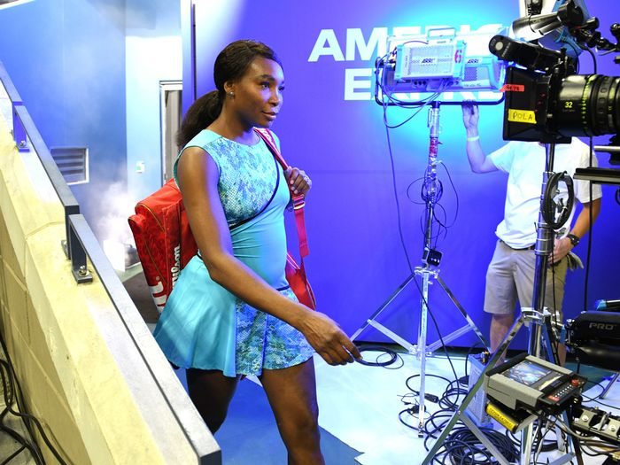 Venus Williams U.S. Open 2018 Interview American Express