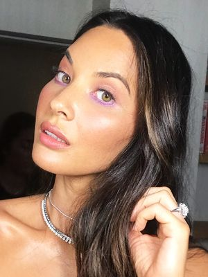 Exclusive: Getting Ready With Olivia Munn for the MTV VMAs