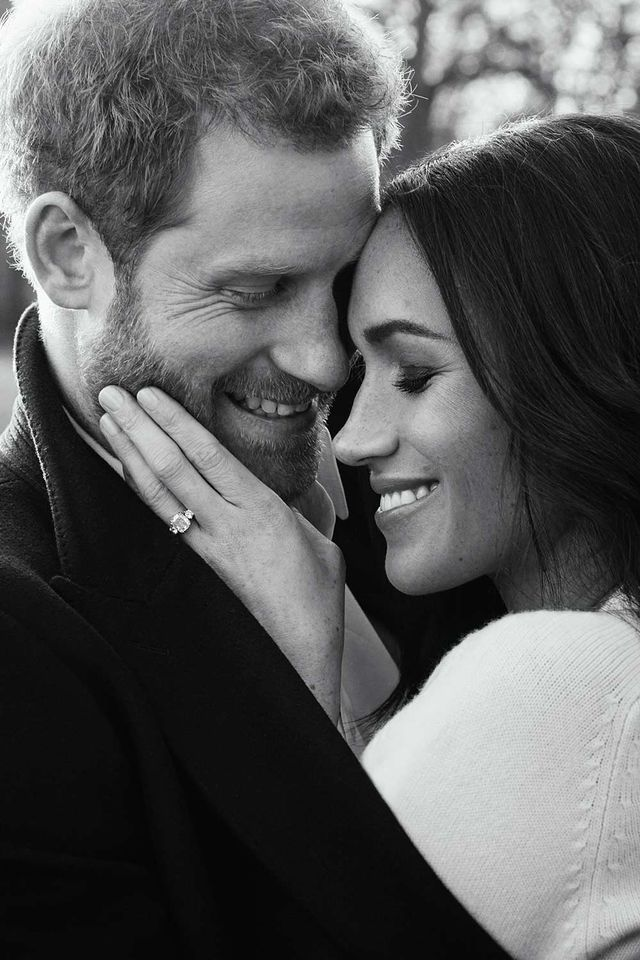 Meghan Markle Engagement Photo