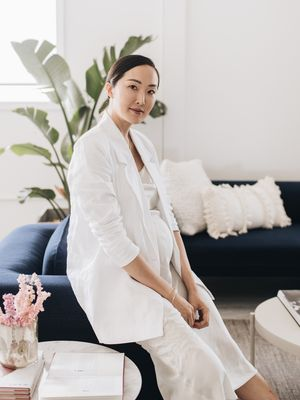 This Fashion Influencer's L.A. Workspace Is as Cool as Her Wardrobe