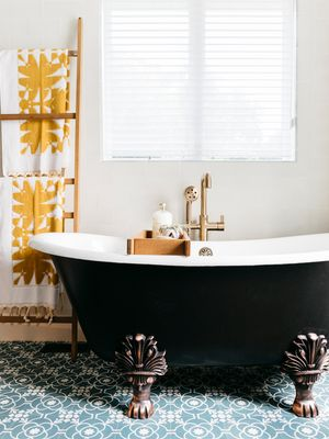 From an Outdated '70s Bathroom to a Modern-Day Stunner, This Renovation Is Goals